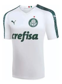 Camisa Do Palmeiras Branca Puma 2018 ( Personalizada )