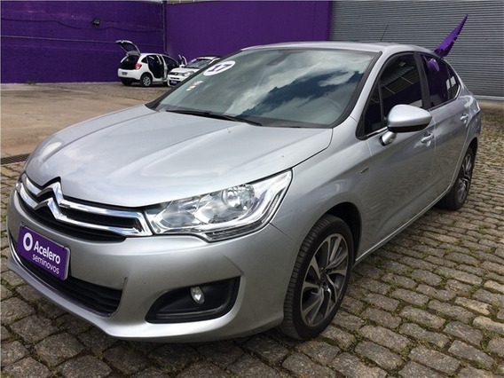 Citroen C4 Lounge 1.6 Exclusive 16v Turbo Flex 4p Automático