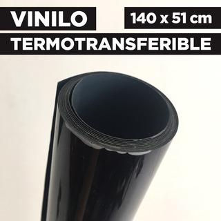 Vinilo Termotransferible Flex Color Negro 140 X 51 Cm