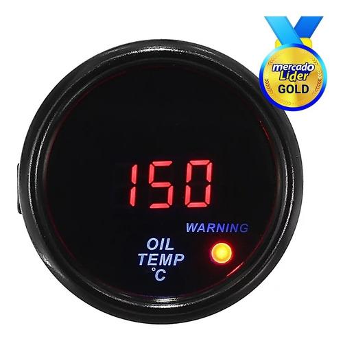 Medidor Temperatura De Aceite  Digital Para Auto Universal