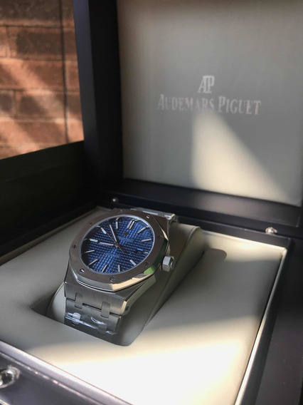 Relógio Royal Oak - Prata Em Aço 904l