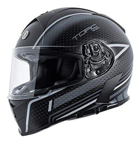 Imagen 1 de 5 de Casco De Motocicleta De Cara Completa Torc T14 Mako Con Gra