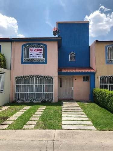 Casa En Condominio, Ex Hacienda De San Miguel, Cuautitlán, Estado De México.
