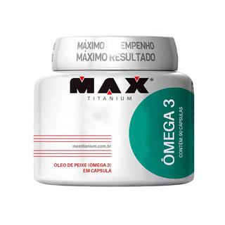 Omega 3 90 Capsulas Max Titanium - Promoção