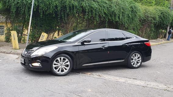 Hyundai Azera 2013-preto-único Dono-multi Mídia-tv-completo