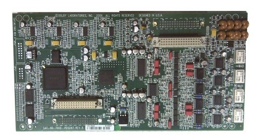 Placa De Som Dolby Cp650 Cat 790z, Cat 790 Digital Input/dol