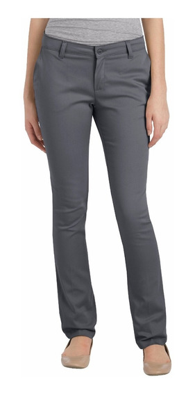Dickies Kp7718 Pantalón Recto Stretch De Mujer
