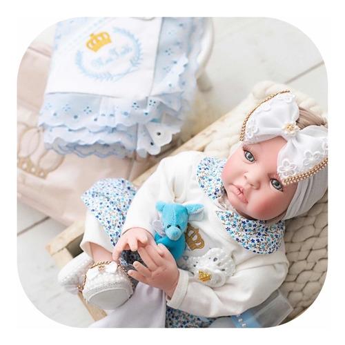 Bebe Reborn Silicone Menina Promocao Boneca Princesa + Bolsa