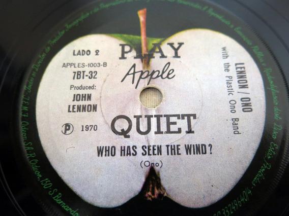 Vinil Compacto Lennon Ono Instant Karma! / The Plastic Ono