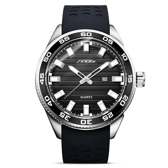 Sinobi 1255 Luminoso Impermeable Estilo Deporte Reloj Cuarzo