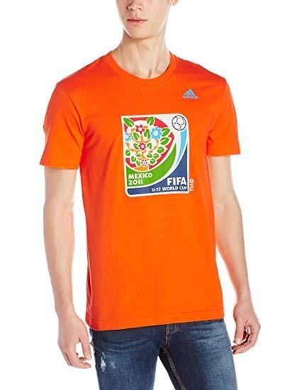 Playera adidas Hombre Naranja Fifa U17 World Cup V15984