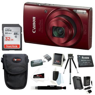 Cámara Digital Canon, 14 Mp, Video, Roja en Mercado Libre México