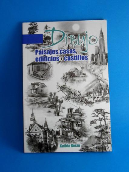 Dibujo De Paisajes, Casas, Edificios Y Castillos Libro Origi