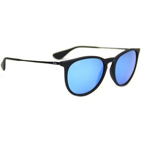 398664f32 Rayban Erika Azul - Óculos no Mercado Livre Brasil