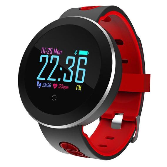 Q8pro Bluetooth Pulseira Inteligente Vermelho