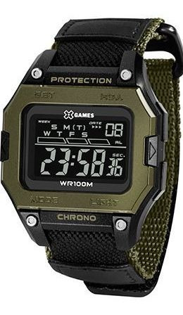 Relógio Masculino X Games Xport Verde Xgppd139-pxep