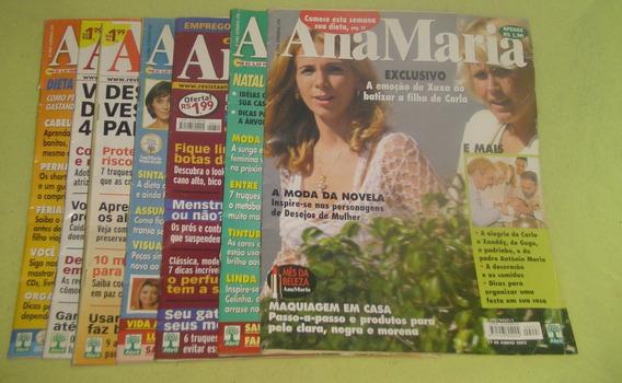 Lote Com 7 Revistas Ana Maria - Cód. 554