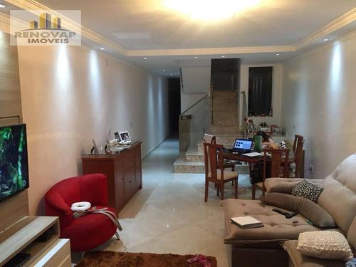 Imagem 1 de 5 de Sobrado Com 3 Dormitórios À Venda, 215 M² Por R$ 745.000,00 - Alto Da Boa Vista - Mogi Das Cruzes/sp - So0410