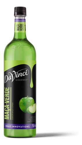 Xarope Da Vinci Sabor Maçã Verde (green Apple) 750ml - Pet