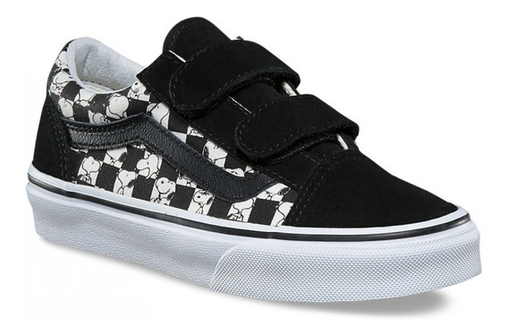 Tenis Vans Peanuts Authentic Snoopy Chckerbrd Old Skool V
