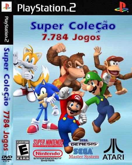 16123 Jogos De Super Nintedo Mega Nes Atari Para Play2 Pc Ju