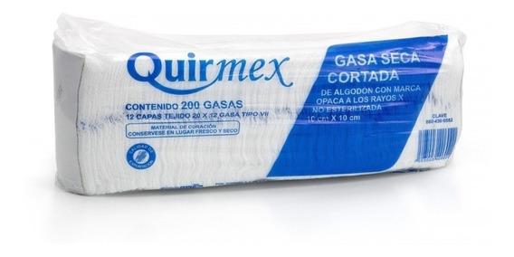 Gasa 10x10 Cm. Rx Con Trama No Estéril
