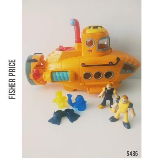 Imaginext Submarino Aventura Mattel Fisher Price