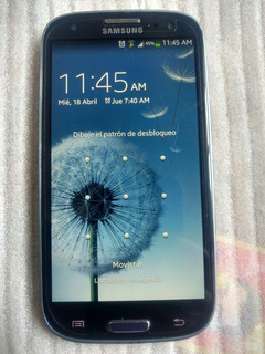 Galaxy S3 Optimas Condiciones