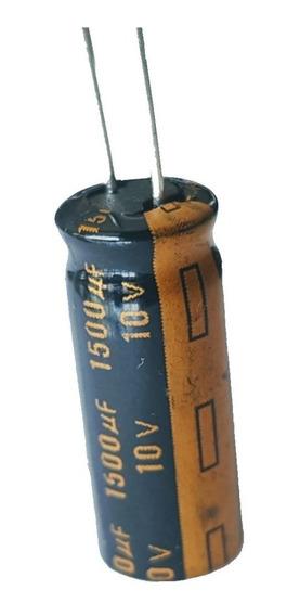 Condensador Electrolitico 1500uf 10v 1500mf +105ºc Bajo Esr