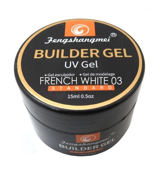 Gel Construccion Builder Uv X15ml French White Fengshangmei