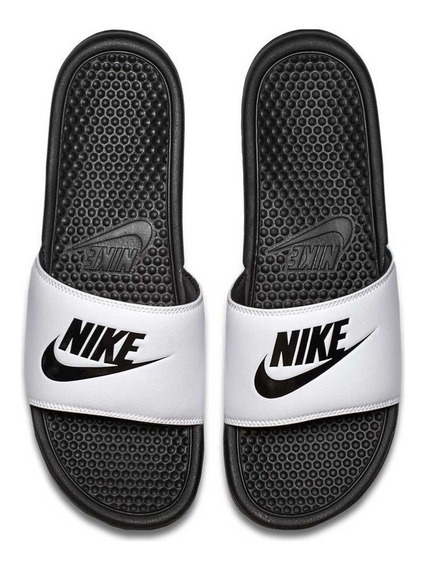 Ojotas Nike Sb Benassi Jdi Negra Blanca Hombre Nike Sb