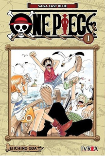Manga One Piece # 01 - Eiichiro Oda