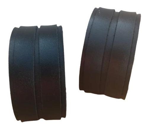 Bracelete Couro Legítimo - 3cm - Preto Ou Marrom