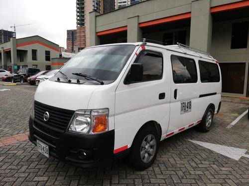 Nissan Urvan 3.0 Di 12 Pasajeros