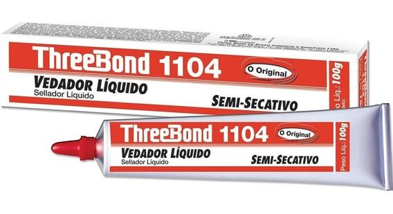 Adesivo Semi Secativo 1104 Branco 100g Three Bond