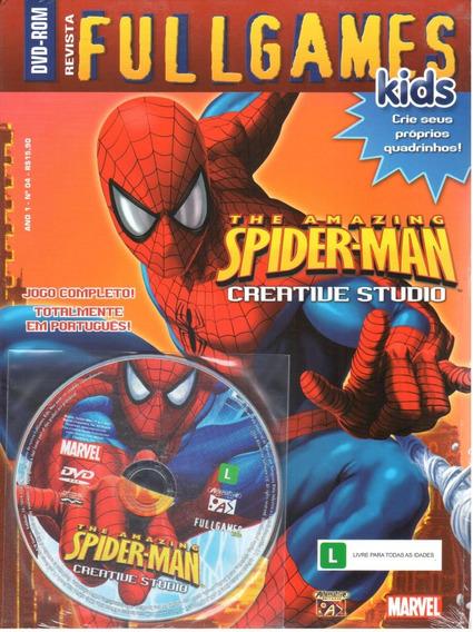 Spider-man Pc Jogo Original Mídia Física Fullgames Kids 04