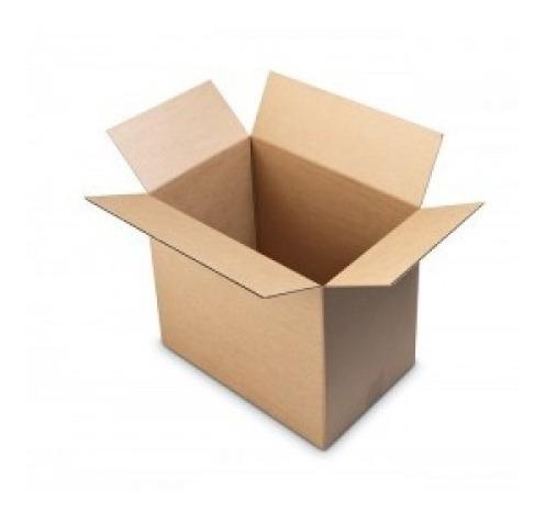 Caja De Carton 19x8x15 Caja Envio Paq 5 Pzas Para Empaque