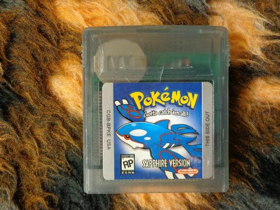 Game Boy - Gb - Pokémon Sapphire - Salvando