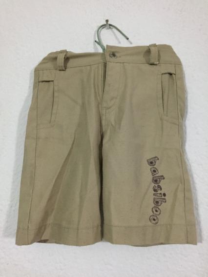 Bermuda Short Beige Niño Talla 3 Y 4 B186 (5)