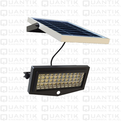 Reflector Solar Led Con Panel Solar Y Sensor Mov 10w-automat