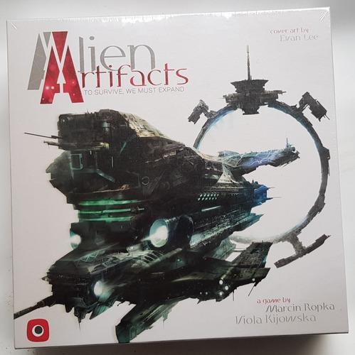 Alien Artifacts Juego De Mesa / Boardgame Nuevo !!!