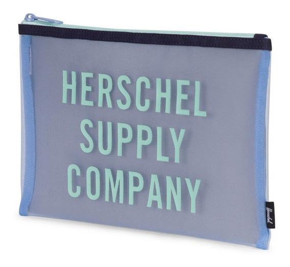 Organizador Herschel Network Large Mesh Celeste