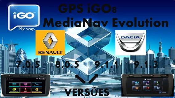 Gps Igo8 Para Media Nav Renault Atualizado Agosto 2019