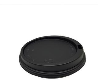 Tapa Negra Para Vaso De Cafe 10 Oz C/1000 Pz