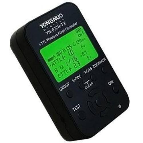 Transmissor Rádio Flash Yongnuo Yn-622n Tx Para Nikon