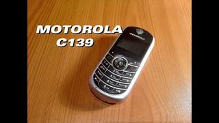 Motorola C139 U2 Telcel Nuevo