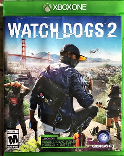 Watch Dogs 2 Fisico Usado Impecable Xbox One Juego