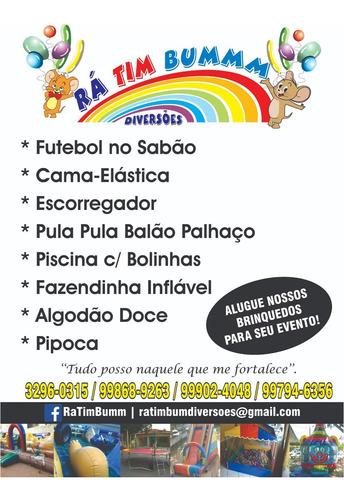 Imagem 1 de 10 de Aluguel De Brinquedos Para Festas Em Geral!