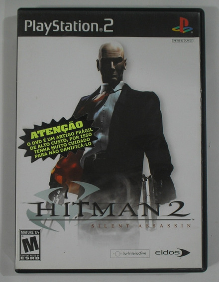 Hitman 2 Sillent Assassin Ps2 Original Usada
