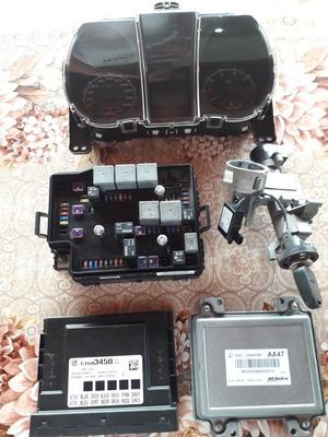 Kit S10 2015 Flex Ls + Modulo Central Ignição Completo